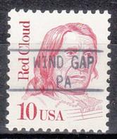 USA Precancel Vorausentwertung Preo, Locals Pennsylvania, Windgap 895 - Prematasellado