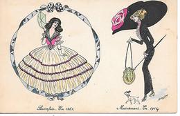 Illustrator - Xavier Sager - Fashion, Mode, Chapeau, Hut, Hat, Dress - Note Description - Sager, Xavier