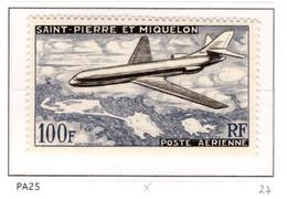 Ex Colonie Française  * St Pierre Et Miquelon *   Poste   Aérienne   PA25  N* - Sonstige