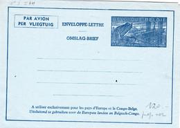 B01-189 - Enveloppe-Lettre Par Avion Aérogramme 3 II A H 6.00€. - Stamped Stationery