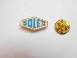 Beau Pin's , Logo Marque Solex , Cyclomoteur , Vélosolex - Motorfietsen