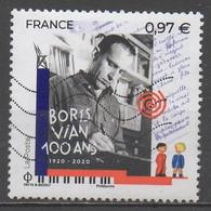 FRANCE  2020 __N° 5383 __OBL VOIR SCAN - Gebruikt