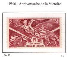 Ex Colonie Française  * St Pierre Et Miquelon *   Poste   Aérienne   PA11  N** - France (ex-colonies & Protectorats)