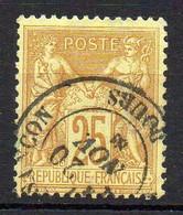 FRANCE ( TYPE SAGE ) : SPINK/MAURY 2019 , N°  92  N/U  TIMBRE  BIEN  OBLITERE , A  SAISIR . LOS - 1876-1898 Sage (Tipo II)