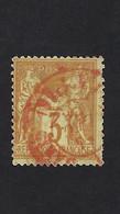 N° 86 Cachet Rouge Des Imprimés,très Beau, Cote 80€ - 1876-1898 Sage (Tipo II)