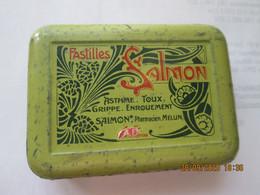 "Boite Métallique ""pastilles Salmon"" - Otros"