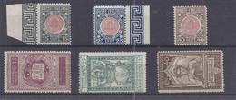 Italien - Selt./postfr. Serien Aus 1921 - Michel 138/43! - Nuovi