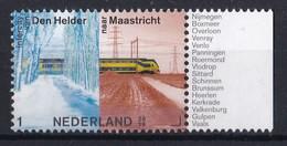Nederland - Openbaar Vervoer In Nederland - Intercity Den Helder-Maastricht - MNH - NVPH 3769 - Trains