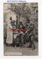 DENTISTE Militaire-ZAHNARZT-Operation-Dent-Humour-CARTE Allemande-Guerre14-18-1 WK-Feldpost- - Weltkrieg 1914-18