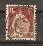 Suisse  - Helvetia Assise - 126 Avec Cachet Douane FAHY-JURA - Used Stamps