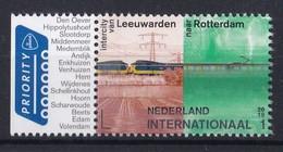Nederland - Openbaar Vervoer In Nederland - Intercity Leeuwarden-Rotterdam - MNH - Int1 - NVPH 3770 - Trains