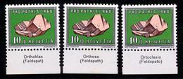 HELVETIA - Mi. 715 - Pro Patria - MNH** - Bogenrand/Bord De Feuille/Tab - (ref. TAB-18) - Pro Patria