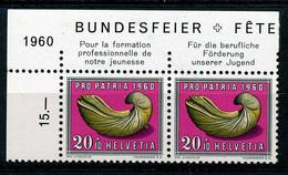 HELVETIA - Mi. 716 - Pro Patria - MNH** - Bogenrand/Bord De Feuille/Tab - (ref. TAB-19) - Pro Patria