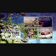 PALAU 2005 - Scott# 834 Sheet-Expo 2005 MNH - Palau