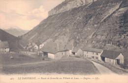 38 - LE DAUPHINE / ROUTE DE GRENOBLE AU VILLARD DE LANS - ENGINS - Villard-de-Lans