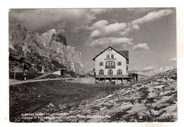 Albergo Passo Falzarego Cortina Viaggiata 1954 Sorapis Tofana - Belluno