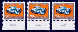 HELVETIA - Mi. 734 - Pro Patria - MNH** - Bogenrand/Bord De Feuille/Tab - (ref. TAB-25) - Pro Patria