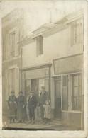 CARTE PHOTO - Peintre Marquet, Magasin à Localiser Dans La Sarthe. - A Identificar