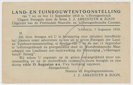 Drukwerk S Hertogenbosch 1919 - Drukkerij - Tentoonstelling - Non Classés