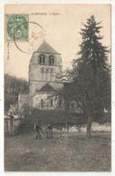 27 - AUBEVOYE - L'Eglise - 1907 - Aubevoye