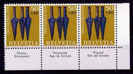 HELVETIA - Mi. 1055 - Pro Patria - MNH** - Bogenrand/Bord De Feuille/Tab - (ref. TAB-37) - Pro Patria