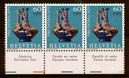 HELVETIA - Mi. 1056 - Pro Patria - MNH** - Bogenrand/Bord De Feuille/Tab - (ref. TAB-38) - Pro Patria