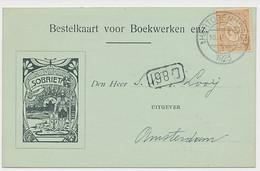 Firma Briefkaart S Hertogenbosch 1923 - Boekhandel Sobrietas - Non Classés