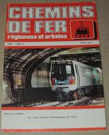 Les Voies Ferrées économiques De L'Orne / N° 212 (1989) Chemins De Fer Régionaux Et Urbains. - Trains