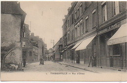 27 THIBERVILLE  Rue D'Orbec - Andere Gemeenten