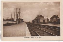 27 AUBEVOYE  La Gare - Aubevoye