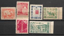 MANCHUKUO - CHINA  STAMPS   1937, . MNH - 1912-1949 Republic