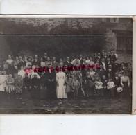 87-SAINT LEONARD NOBLAT-MARIAGE JEAN CHABANTE ET MARIE JABET A MARSAC PHOTO ORIGINALE BOUDEAU ST PRIEST TAURION 1912 - Identifizierten Personen