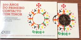 Portogallo Portugal 2015 2 € Timor Blister Ufficiale - Portugal