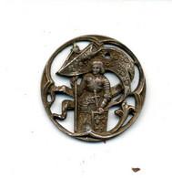 Médaille Ou Décoration (?) Jeanne D'Arc Ancienne (fin XIXème - Début XXème) - France