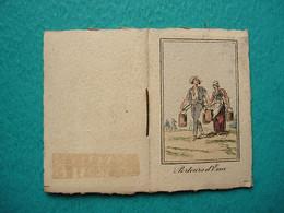 Petit Calendrier Carnet 1939 - Chocolat FOUCHER - Porteurs D'eau - Tamaño Pequeño : 1921-40
