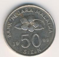 MALAYSIA 1998: 50 Sen, KM 53 - Malaysia