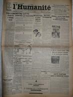 Journal Humanité Parti Communiste 31 Janvier 1935 Laval Flandin Trith Louvroil Millau Front Populaire Vincennes - Andere