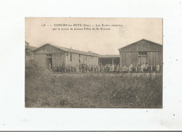 CONCHY LES POTS (OISE) 105.1  LES ECOLES ADOPTEES PAR LE LYCEE DE JEUNES FILLES DE ST ETIENNE - Sonstige Gemeinden