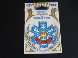 Blason écusson Adhésif Autocollant Les Rousses Flocon Neige Jura  Aufkleber Wappen Coat Arms Adhesivo Adesivo Stemma - Oggetti 'Ricordo Di'