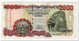 GHANA,2000 CEDIS,2003,P.33,VF - Ghana