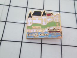 1119 Pins Pin's / Rare & Belle Qualité THEME SPORTS / CYCLISME CLUB DIEPPE CIRCUIT DES 3 VALLEES - Ciclismo