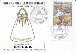 CPSM - 78 - CHATOU - Foire à La Ferraille Et Aux Jambons 1970 - Chatou