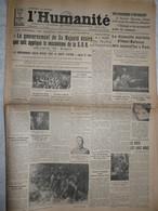 Journal Humanité Parti Communiste 5 Septembre 1935 Henri Barbusse Italie éthiopie Laval Cheminot Fourmies - Andere
