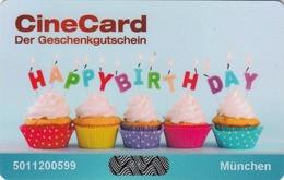 GERMANY - KINOPOLIS , Happy Birthday, Gift Card - Gift Cards