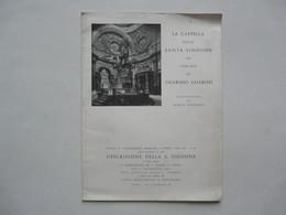 LA CAPPELLA DELLA SANTA SINDOUE IN TORINO DI GUARINO GUARINI 1961 - Collections