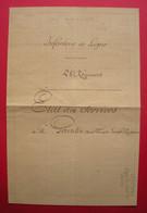 1804-1831 Etat Des Services, Blessures & Campagnes François Gourdin Capitaine 19 & 28 RI De Ligne Empire-Espagne - Historical Documents