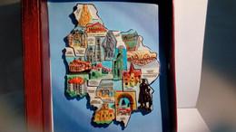 Série De Fèves Région Bourgogne Patrimoine - Regions