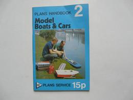PLANS HANDBOOK - MODELS BOATS & CARS 1970 - Other