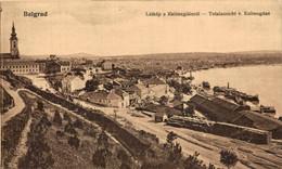 Belgrade, Totalansicht V. Kalimegdan. Serbia. Serbie - Serbia
