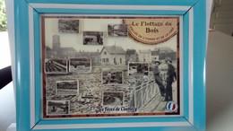 """Série De Fèves Région Bourgogne Clamecy """" Le Flottage Du Bois"""" - Regions"""